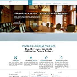 image of strategic leverage partners website