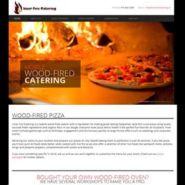 picture of inner fire catering website