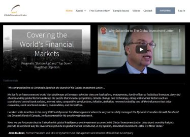 image of lamont wealth website